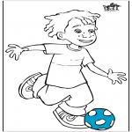 Litt av hvert - Boy with football