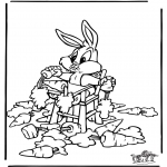 Tegneseriefigurer - Bugs Bunny 2