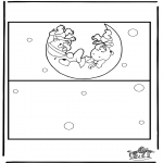 Kreativitet - Card baby 2