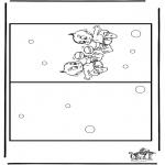 Kreativitet - Card baby 3