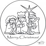 Kreativitet - Card Christmas 1