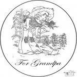 Kreativitet - Card for grandpa