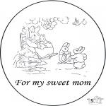 Kreativitet - Card for mother