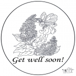 Kreativitet - Card get well 1