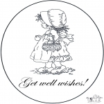 Kreativitet - Card get well 6