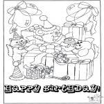 Kreativitet - Card happy birthday 1