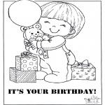 Kreativitet - Card happy birthday 2