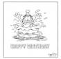 Card happy birthday 3