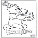 Kreativitet - Card happy birthday 4