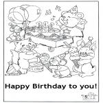Kreativitet - Card happy birthday 5