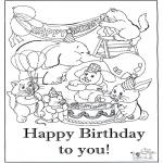 Kreativitet - Card happy birthday 6