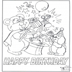 Kreativitet - Card happy birthday 7