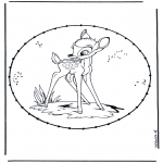 Broderkort - Cartoon stitchingcard 2