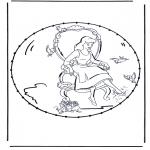 Broderkort - Cartoon stitchingcard 3
