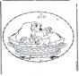 Cartoon stitchingcard 4