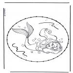 Broderkort - Cartoon stitchingcard 5