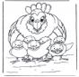 Chicken and little chicks