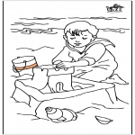 Småbarn - Child at the sea