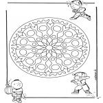 Mandala - Children geomandala 1