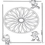 Mandala - Children geomandala 2