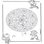 Mandala - Children geomandala 3