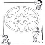 Mandala - Children mandala 16