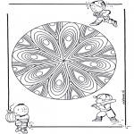 Mandala - Children mandala 21