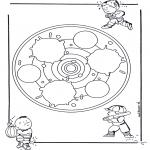Mandala - Children mandala 24