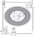 Mandala - Children mandala 25