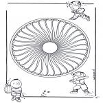 Mandala - Children mandala 26