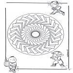 Mandala - Children mandala 27