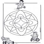 Mandala - Children mandala 7