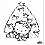 Jul - Christmas Hello Kitty