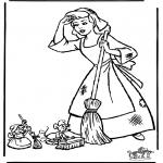 Tegneseriefigurer - Cinderella 12