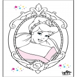 Tegneseriefigurer - Cinderella 15