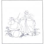 Tegneseriefigurer - Cinderella 16