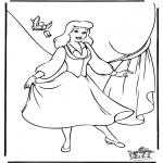 Tegneseriefigurer - Cinderella 8