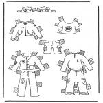 Kreativitet - Cloth paper doll 1