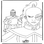 Tegneseriefigurer - Coloring page Avatar