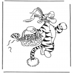 Temaer - Coloring page easternbunny