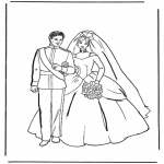 Temaer - Coloring pages marriage