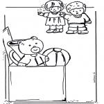 Småbarn - Coloringpage toys 2