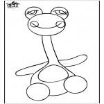 Småbarn - Coloringpage toys 3