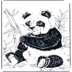 Kreativitet - Connect the Dots - giant panda