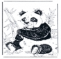 Connect the Dots - giant panda