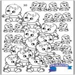 Kreativitet - Count the babies