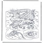 Dyr -  Crocodile 1