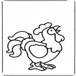 Dyr - Crowing cock