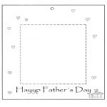 Temaer - Dads day fotoframe