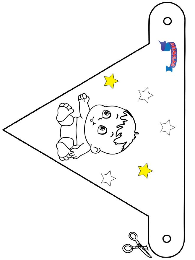 Decoration flag Primalac - Kreativ med å bygge